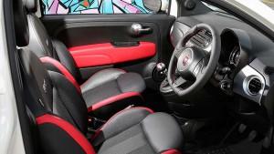 Fiat-500S interior
